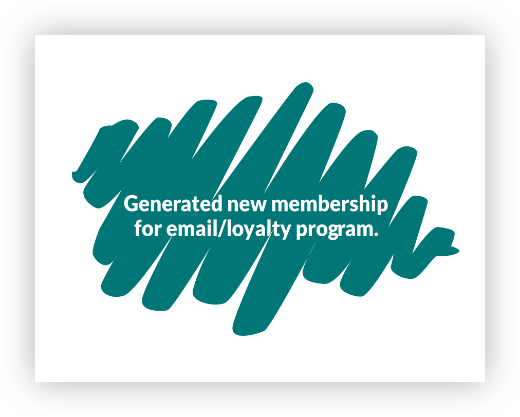Infographic highlighting how ADM can generate new memberships for loyalty programs